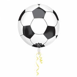 Folienballon Orbz Soccer Ball 40cm