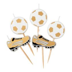 Kerzen Fußball Champions 5 Stück