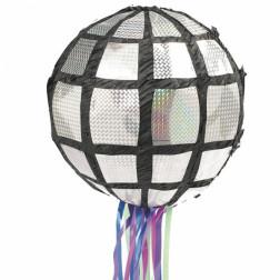 Pull Pinata Disco Ball 26cm