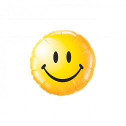 Folienballon Smiley Face 45cm