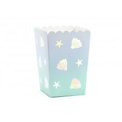 Popcorn Boxen Mermaid 6 Stück
