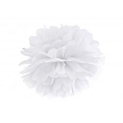 Tissue paper Pompom white 35cm
