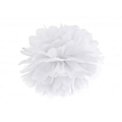 Tissue paper Pompom white 25cm