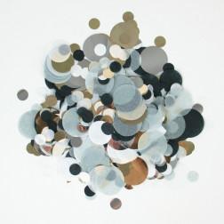 Konfetti mix schwarz