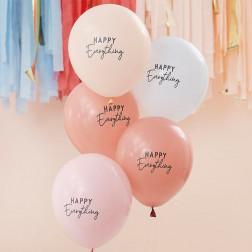 Luftballons Happy Everything 5 Stück