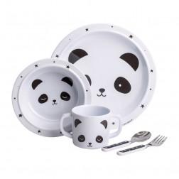 Geschirrset Panda