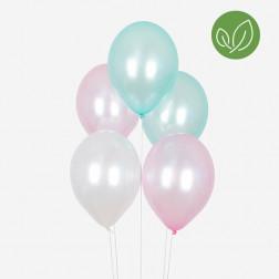 Luftballons trio metallic 10 Stück