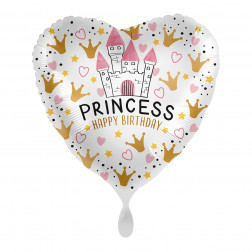 Folienballon Magical Princess Birthday 43cm
