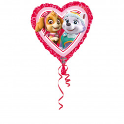 Folienballon Paw Patrol Love Girl 43 cm