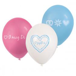 Luftballons Oktoberfest 6 Stück