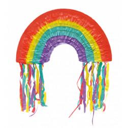 Pull Pinata Rainbow 45cm