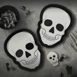 Pappteller Skull 8 Stück