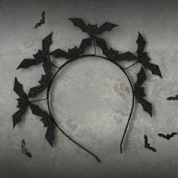 Haarreif Black Bat