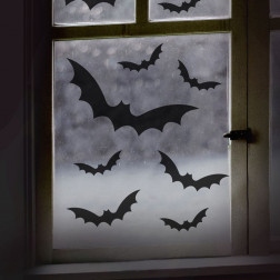 Window Stickers Black Bat