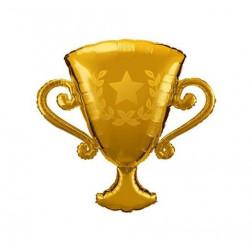 Folienballon Trophy Pokal gold 99cm