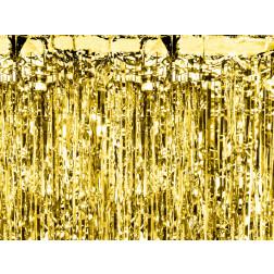 Lametta curtain gold 0.9 x 2.5m