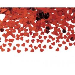 Konfetti Herz Rot 14g