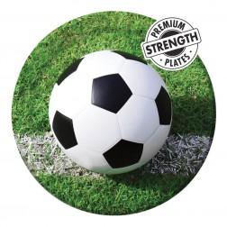 Pappteller Fußball 8 Stück