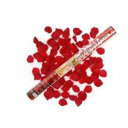 Kanone Rosenblättern rot 60cm