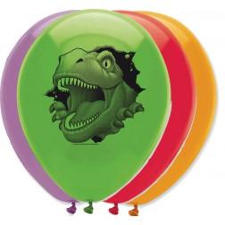 Luftballons Dino 6 Stück