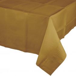 Tischdecke Gold 137 x 274cm
