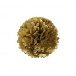 Pom Pom Gold 25cm