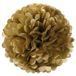 Pom Pom Gold 50cm