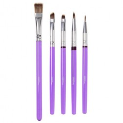 Wilton Decorating Brush Set Pinsel 5 teilig