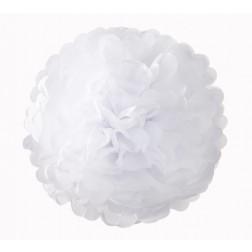 Pom Pom Weiß 3 Set