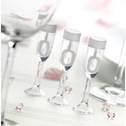 Seifenblasen Champagnerglas 24 Stück