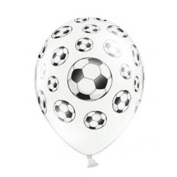 Fußball Luftballons 6 Stück