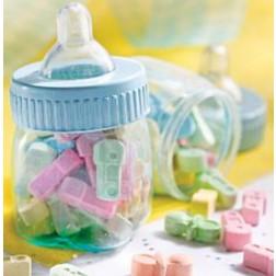 Blau mini Baby Flaschen 6 Stück