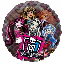 Folienballon See-Thru Monster High 66cm