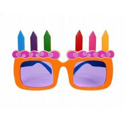 Brille Geburtstag Kerzen