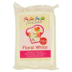 FunCakes Mandelhaltige Zuckermasse Floral White 250g