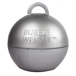 Ballon Gewicht Bubble silber 35g