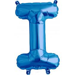 Air Folienballon Buchstabe I blau 41cm