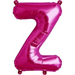 Air Folienballon Buchstabe Z magenta 41cm
