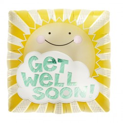 Folienballon Get Well Soon! 45cm