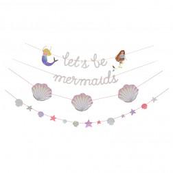 Girlande Meerjungfrau Let s Be Mermaids