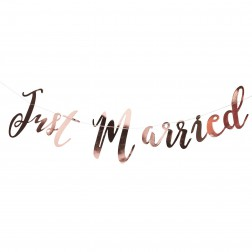 Just Married Girlande Rose Gold Beautiful Botanics 1.5m