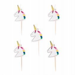 Unicorn Kerzen 5 Stück