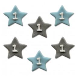 Zuckerdekor One Star Boy 6 STück