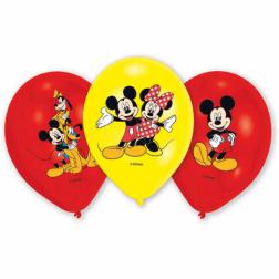 Mickey Maus Luftballons 6 Stück