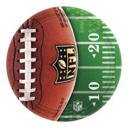 NFL Super Bowl kleine Pappteller 8 Stück