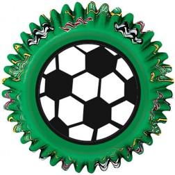 Cupcake Formen Fußball 50 Stück