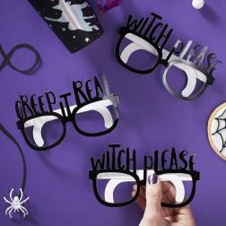 Brille Halloween 8 Stück