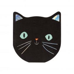 Servietten Black Cat 16 Stück