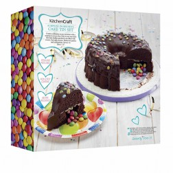 Backform Surprise Pinata Cake rund 2er Set