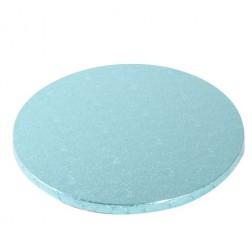 Tortenplatte rund blau Ø 30,5cm